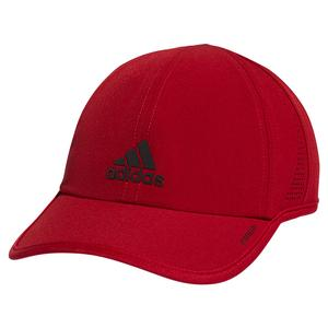 Men`s Superlite 2 Cap Team Victory Red and Black Reflective