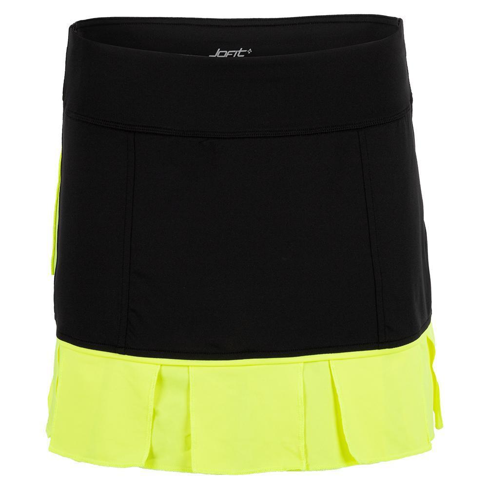 Women's Pearl Tennis Skort Black