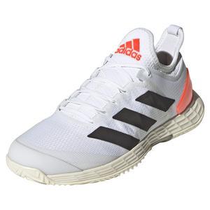 Women`s adizero Ubersonic 4 Tennis Shoes White and Core Black