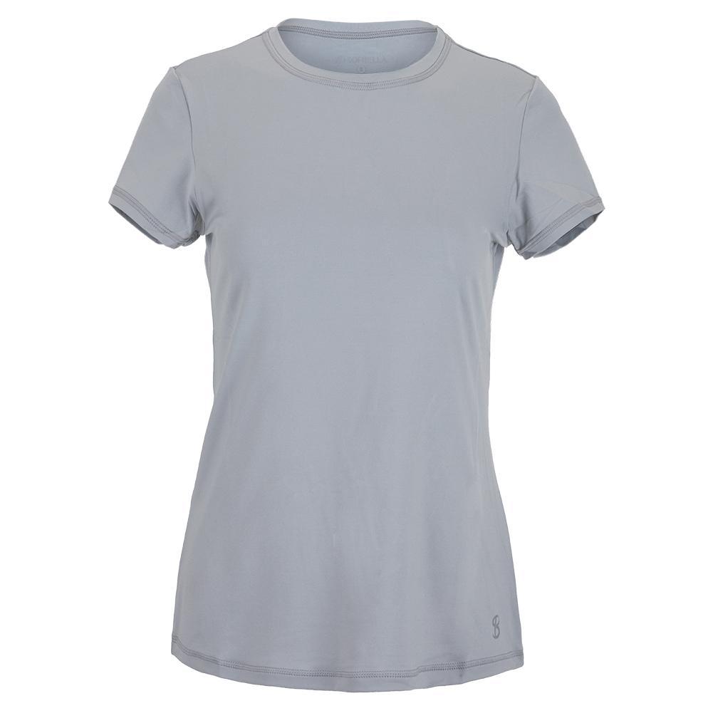 Women's Uv Short Sleeve Tennis Top Stone