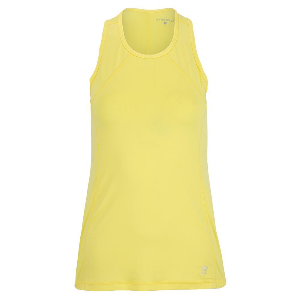 Women's Uv Tennis Tank Sunshine