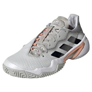 Women`s Barricade Tennis Shoes Grey Two and Core Black