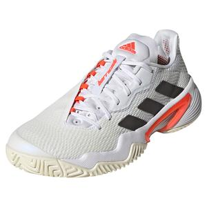 Women`s Barricade Tennis Shoes White and Core Black