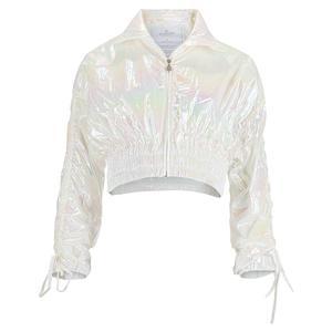 Women`s Glowup Fly Away Tennis Jacket Foil Iridescent