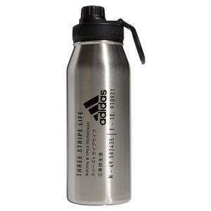 Steel Metal Bottle 1L Stainless Steel and Black