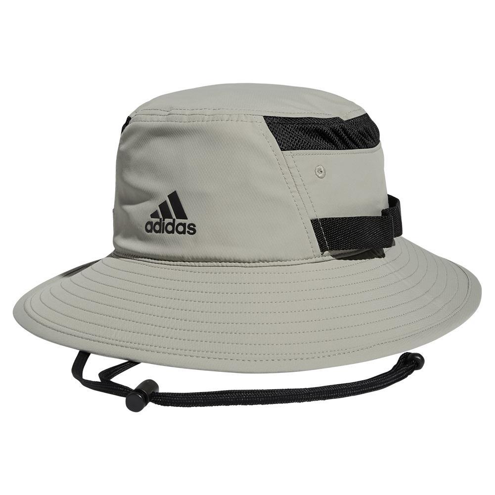 Men's Victory Iii Bucket Hat Feather Grey And Black