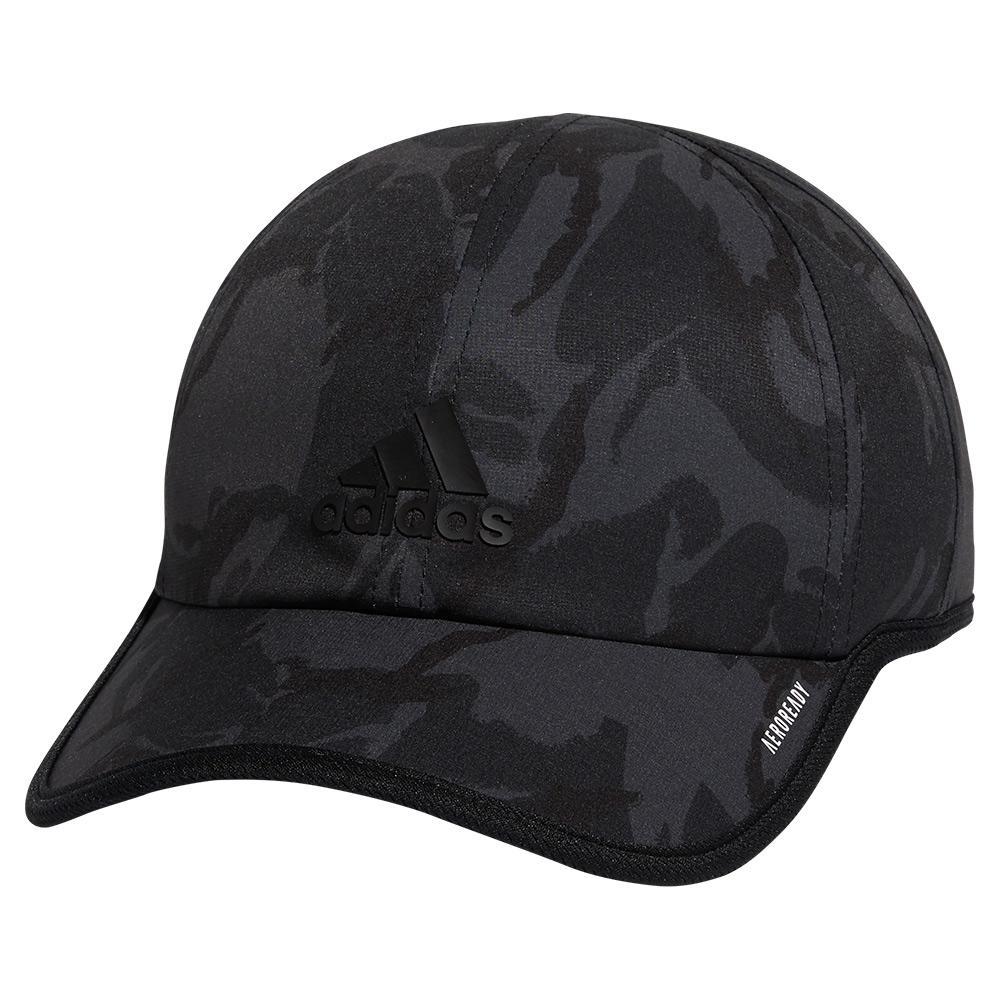 Men's Superlite Pro 2 Print Cap Grey Six Camo And Black