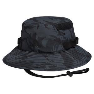 Men`s Victory III Bucket Hat Grey Six Camo and Black