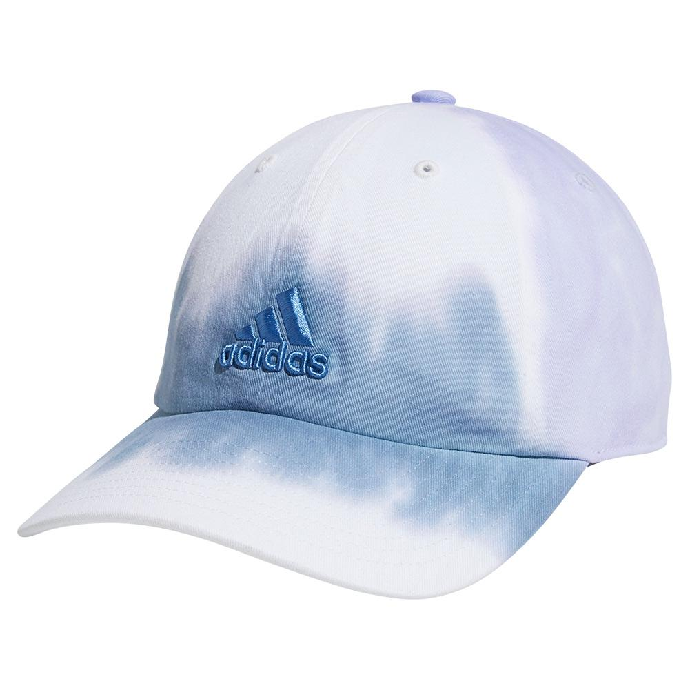 Women's Relaxed Color Wash Cap Ambient Sky And Violet Tone