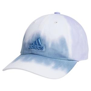 Women`s Relaxed Color Wash Cap Ambient Sky and Violet Tone