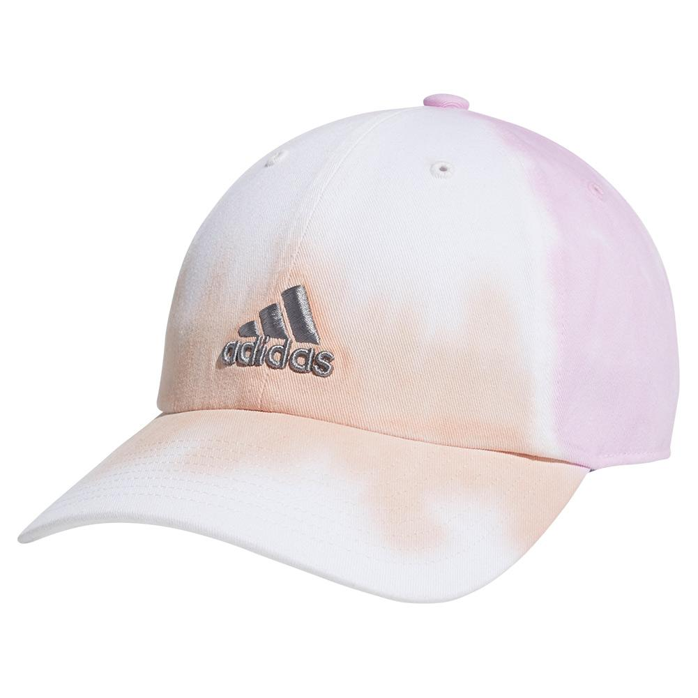 Women's Relaxed Color Wash Cap Vapour And Frost Pink