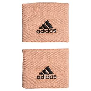 Small Tennis Wristband Ambient Blush and Black