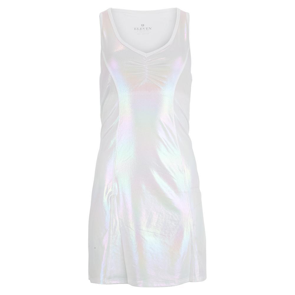 Women's Venus Starr Tennis Dress Foil Iridescent