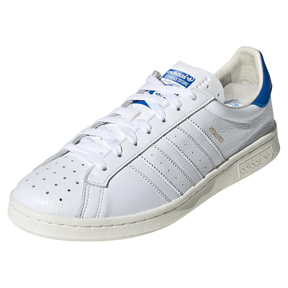 Men's Earlham Tennis Shoes White And Blue