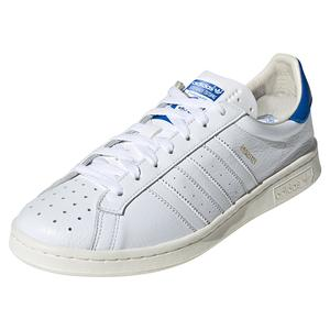 Men`s Earlham Tennis Shoes White and Blue