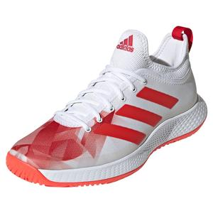 Men`s Defiant Generation Tennis Shoes Core White and Red