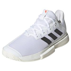 Men`s SoleMatch Bounce Tennis Shoes White and Core Black