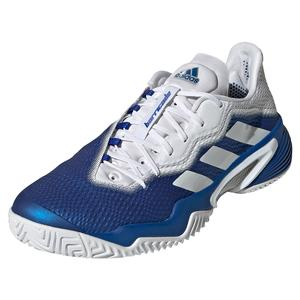 Men`s Barricade Tennis Shoes Team Royal Blue and White