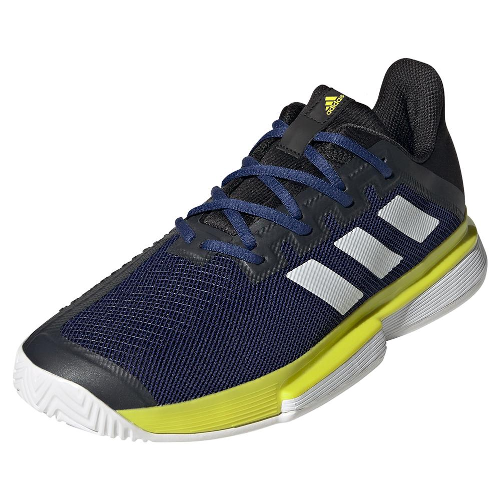 Men's Solematch Bounce Tennis Shoes Victory Blue And White