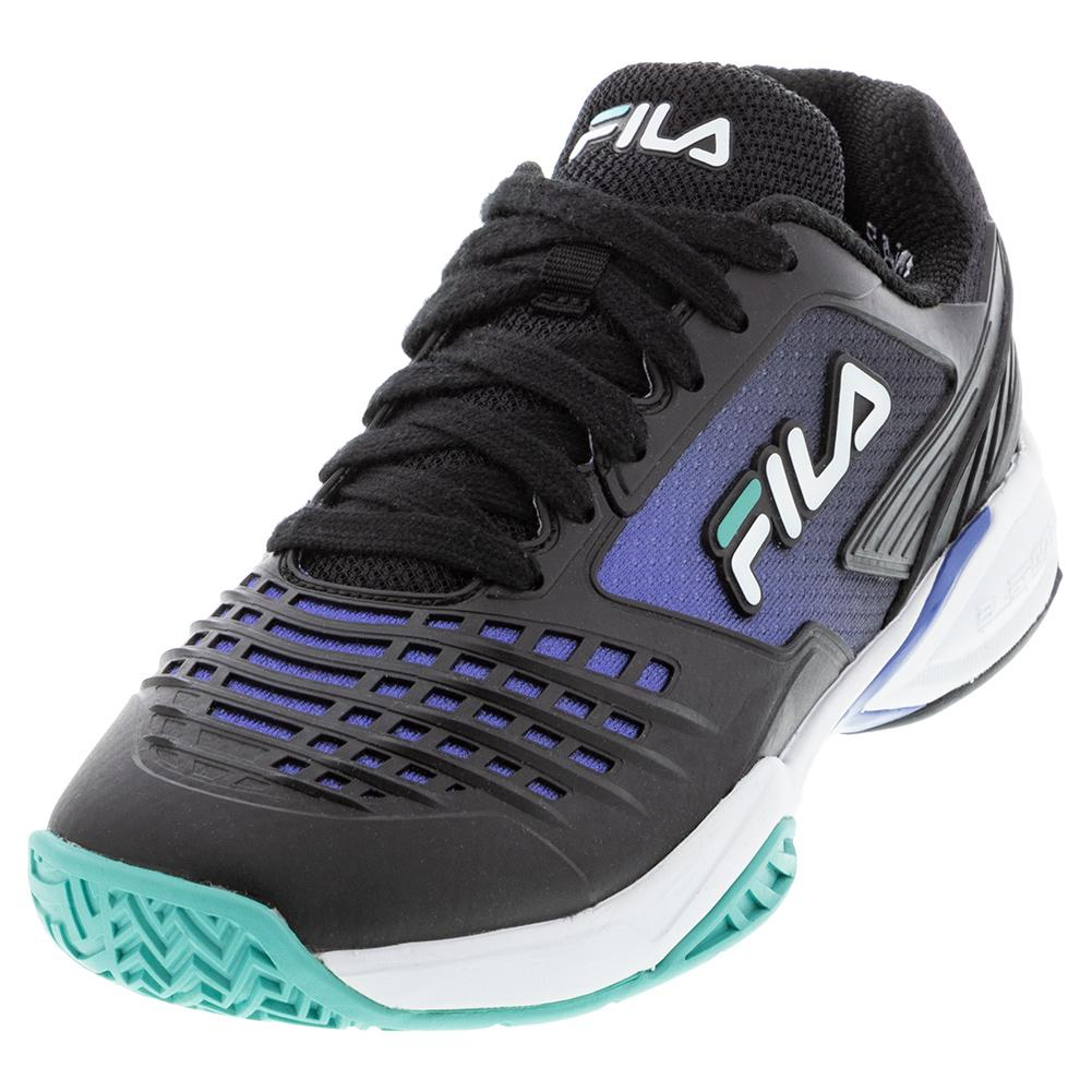 Women's Axilus 2 Energized Tennis Shoes Black And Amparo Blue