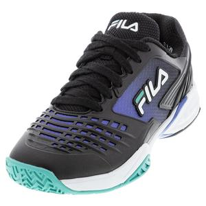 Women`s Axilus 2 Energized Tennis Shoes Black and Amparo Blue