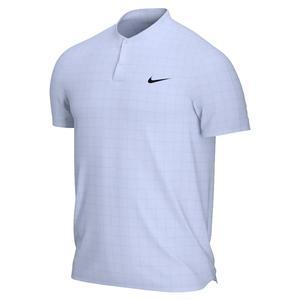Men`s Court Dri-FIT Advantage Tennis Polo Indigo Haze