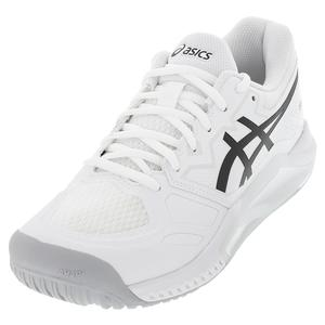 Men`s GEL-Challenger 13 Tennis Shoes White and Black