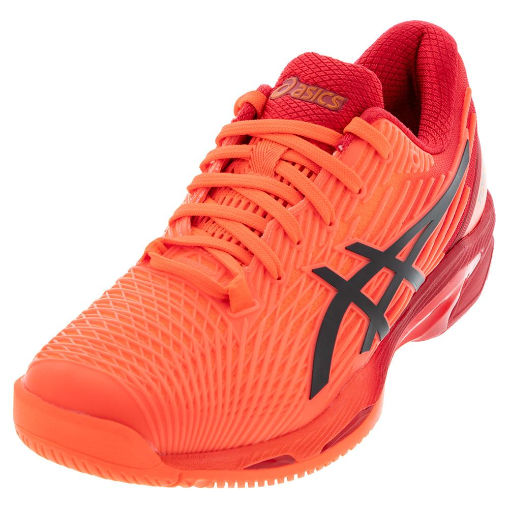 Asics Men`s Solution Speed FF 2 Tokyo Tennis Shoes Sunrise Red and ...