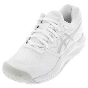 Women`s GEL-Challenger 13 Tennis Shoes White and Pure Silver