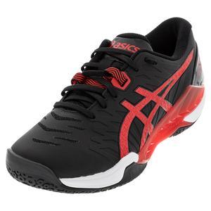 Men`s Blast FF 2 Handball Shoes Black and Electric Red