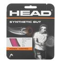 Synthetic Gut Tennis String PINK