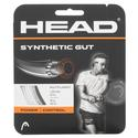 Synthetic Gut Tennis String WHITE