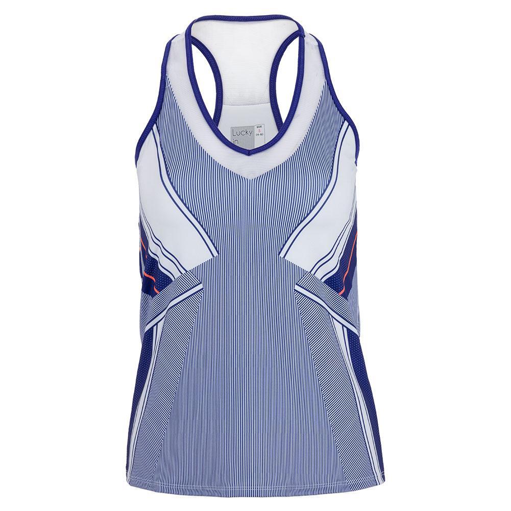 Women's Tennis Tank With Bra Kinetic Energy