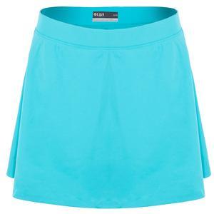 Women`s Flounce Tennis Skort Turquoise