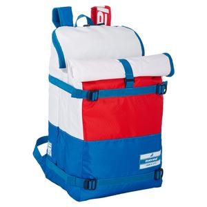 Evo 3 Plus 3 Tennis Backpack Red and Blue