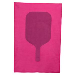Pink Pickleball Paddle Towel