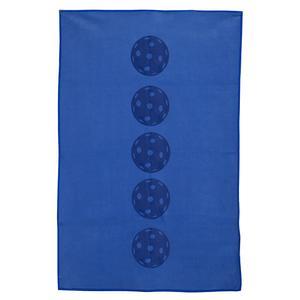 Blue Pickleball Balls Towel