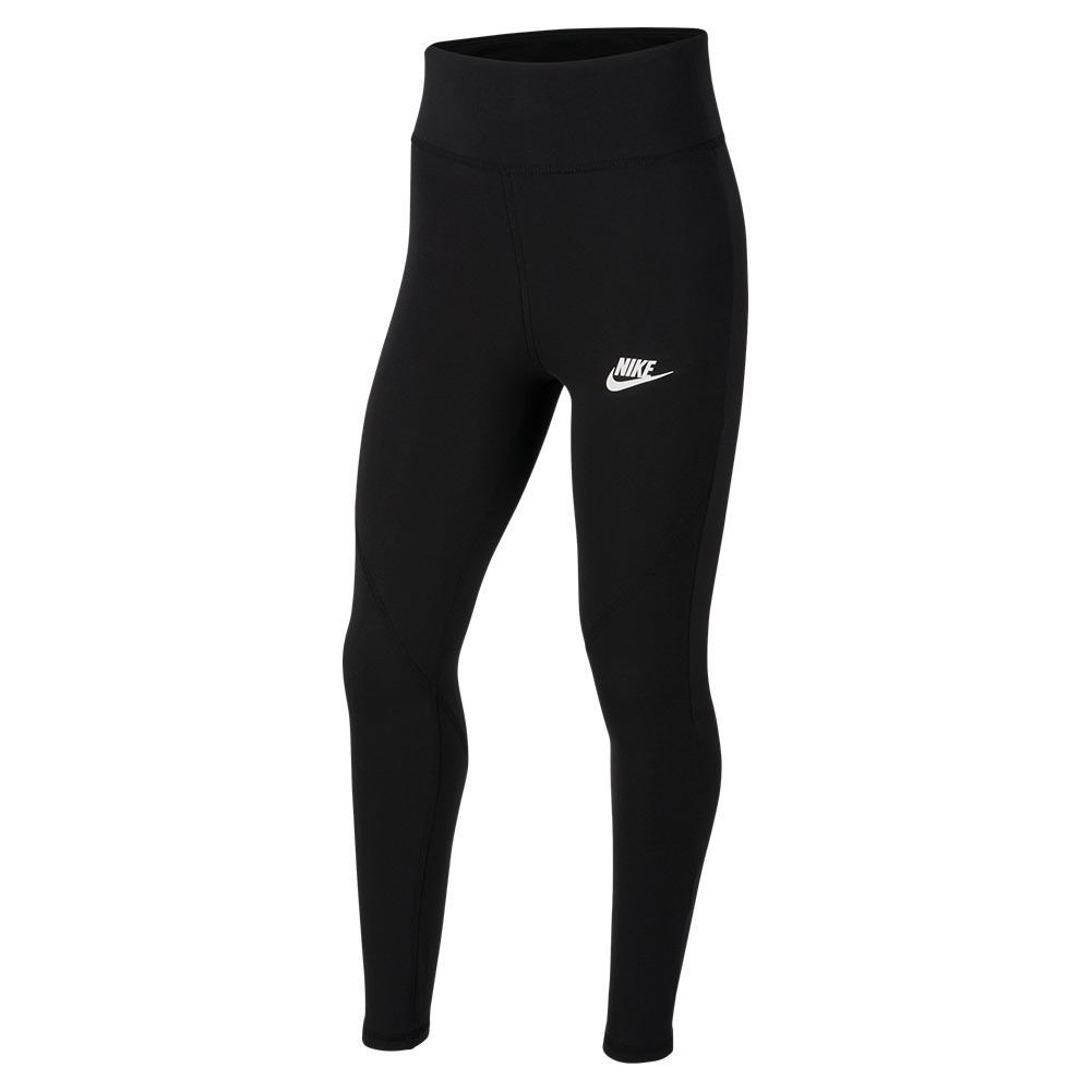 Girls'sportswear Favorites High- Waisted Leggings Black And White