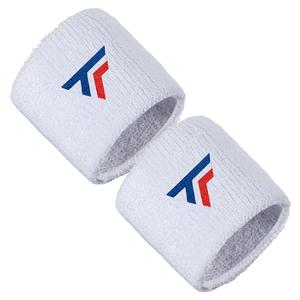 Tennis Wristbands 2 Pack White