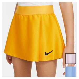 Girls` Court Dri-FIT Victory Flouncy Tennis Skirt