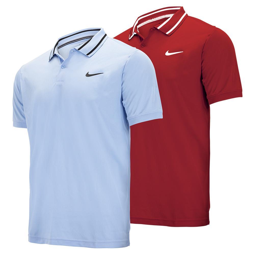 Men's Court Dri- Fit Pique Victory Tennis Polo