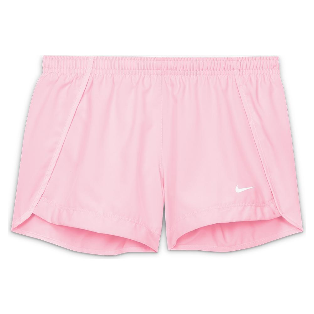 Girls ` Dri- Fit Sprinter Running Shorts Pink Foam