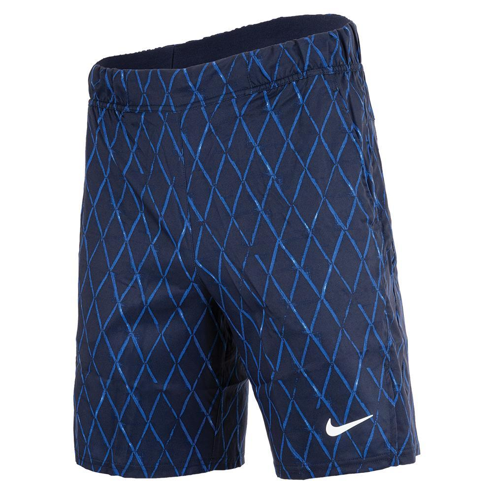 Men's Court Dri- Fit Victory 9 Inch Printed Tennis Shorts