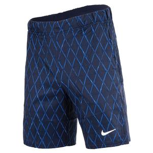 Men`s Court Dri-FIT Victory 9 Inch Printed Tennis Shorts