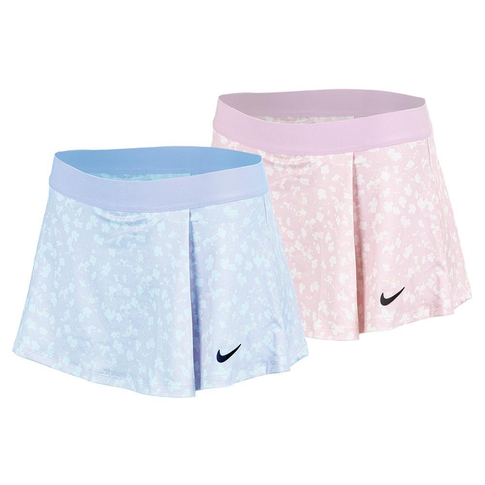 Girls ` Court Dri- Fit Victory Printed Tennis Skirt