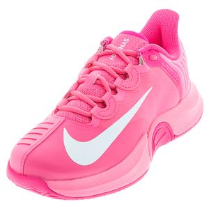 Women`s Naomi Osaka Court Air Zoom GP Turbo Tennis Shoes Digital Pink and White
