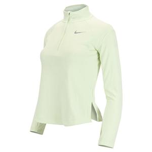 Girls` Dri-FIT Long-Sleeve Running Top Lime Ice