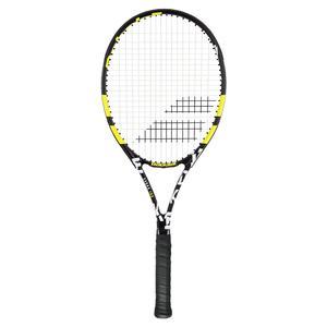 Evoke 102 Prestrung Tennis Racquet Black and Yellow