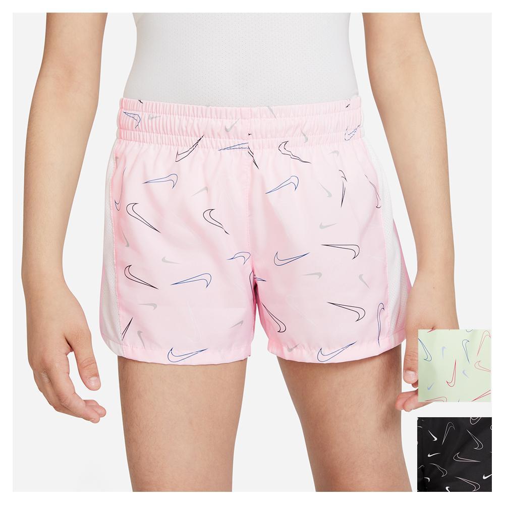 Girls ` Dri- Fit 10k2 Printed Running Shorts