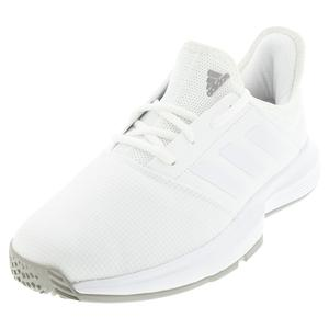 Men`s GameCourt Tennis Shoes Footwear White